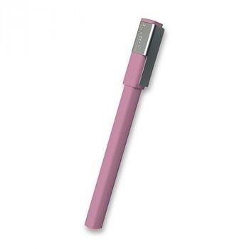 Roller MOLESKINE Plus růžový - Roller MOLESKINE k upevnění na desky zápisníku. Laserové gravírování na klip.