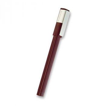 Roller MOLESKINE Plus, vínový - Roller MOLESKINE k upevnění na desky zápisníku. Laserové gravírování na klip.