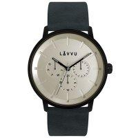 Hodinky LAVVU TROMSØ Indigo blue, pánské - Špičkové pánské náramkové hodinky. Gravírujeme podle vašeho zadání! Přesně, rychle, kvalitně. Zboží skladem, expedice do 24h.
