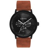 Hodinky LAVVU TROMSØ Cedar Brown, pánské - Špičkové pánské náramkové hodinky. Gravírujeme podle vašeho zadání! Přesně, rychle, kvalitně. Zboží skladem, expedice do 24h.