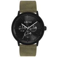Hodinky LAVVU TROMSØ Army Black, pánské - Špičkové pánské náramkové hodinky. Gravírujeme podle vašeho zadání! Přesně, rychle, kvalitně. Zboží skladem, expedice do 24h.