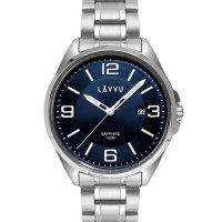 Hodinky LAVVU HERNING Blue, pánské - Špičkové pánské náramkové hodinky. Gravírujeme podle vašeho zadání! Přesně, rychle, kvalitně. Zboží skladem, expedice do 24h.