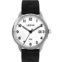 Hodinky LAVVU GÖTEBORG White, pánské - Špičkové pánské náramkové hodinky. Gravírujeme podle vašeho zadání! Přesně, rychle, kvalitně. Zboží skladem, expedice do 24h.