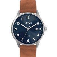 Hodinky LAVVU GÖTEBORG Blue, pánské - Špičkové pánské náramkové hodinky. Gravírujeme podle vašeho zadání! Přesně, rychle, kvalitně. Zboží skladem, expedice do 24h.