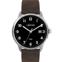 Hodinky LAVVU GÖTEBORG Black, pánské - Špičkové pánské náramkové hodinky. Gravírujeme podle vašeho zadání! Přesně, rychle, kvalitně. Zboží skladem, expedice do 24h.