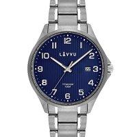 Hodinky LAVVU Titanum Lillehammer Blue, pánské - Špičkové pánské náramkové hodinky. Gravírujeme podle vašeho zadání! Přesně, rychle, kvalitně. Zboží skladem, expedice do 24h.