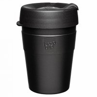 Termohrnek KeepCup Thermal Black M - Špičkový designový termohrnek s možností osobního popisu. Zboží skladem, expedujeme do 24 hodin.