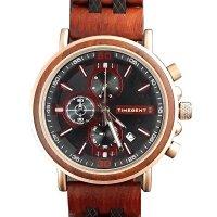 Hodinky TIMEGENT Elysium, dřevěné, pánské - Náramkové hodinky s luxusním dřevěným řemínkem a možností gravírovaného věnování. Skvělý dárek! Skladem, expedice do 24h.