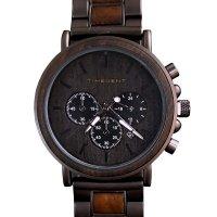Hodinky TIMEGENT Nemesis, dřevěné, pánské - Náramkové hodinky s luxusním dřevěným řemínkem a možností gravírovaného věnování. Skvělý dárek! Skladem, expedice do 24h.