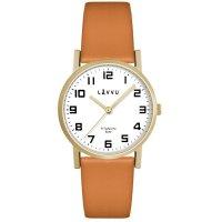 Hodinky LAVVU MANDAL Gold Titan, dámské - Špičkové dámské náramkové hodinky. Gravírujeme podle vašeho zadání! Přesně, rychle, kvalitně. Zboží skladem, expedice do 24h.