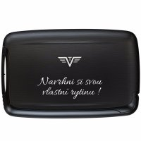 TRU VIRTU PEARL Card Case Black Magic - s gravírováním