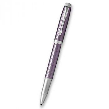 Roller PARKER Royal IM Premium Dark Violet CT - s gravírováním