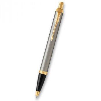 Kuličkové pero PARKER Royal IM Brushed Metal GT - s gravírováním