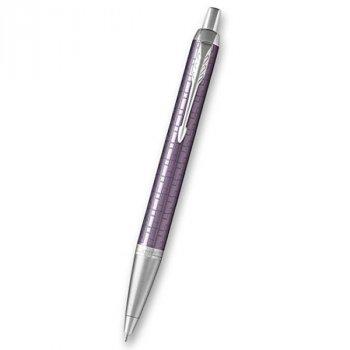Kuličková tužka PARKER Royal IM Premium Dark Violet CT - s gravírováním