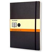 Zápisník MOLESKINE linkovaný M/XL černý