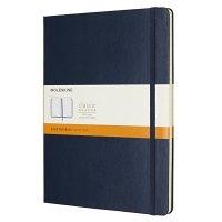 Zápisník MOLESKINE linkovaný T/XL modrý