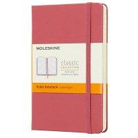Zápisník MOLESKINE linkovaný T/L růžový