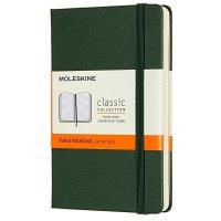 Zápisník MOLESKINE linkovaný T/L tmavě zelený