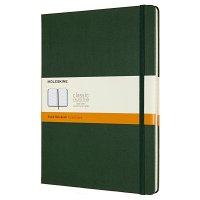 Zápisník MOLESKINE linkovaný T/XL tmavě zelený