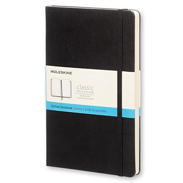 Levně Moleskine Zápisník tvrdé desky černý tečkovaný A6 96 listů + DÁREK ZDARMA