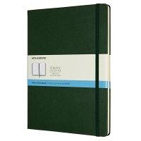 Zápisník MOLESKINE tečkovaný T/XL tmavě zelený