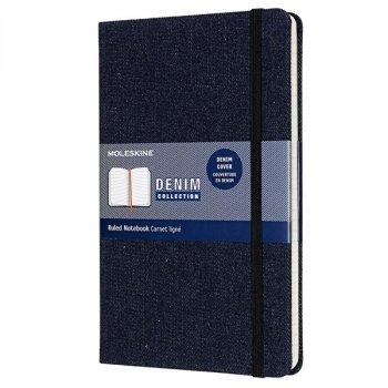 Zápisník MOLESKINE DENIM S tmavě modrý